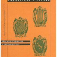 F&L n. 147 Crisi dello Stato sociale e diritto formativo