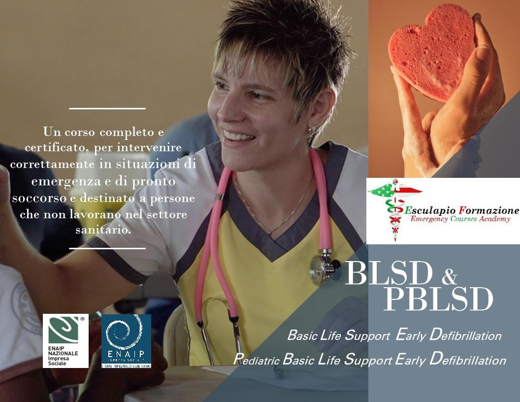 Corso per BLSD e PBLSD
